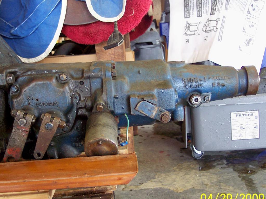 Muncie 3 speed overdrive unit | Classic Parts Talk
