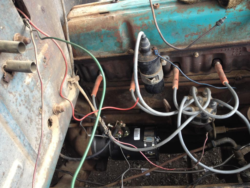 Why Wont My 1954 Chevy 3100 Starter Turn Over Classic Parts Talk 210 Wiring Diagram Authors Fair 167