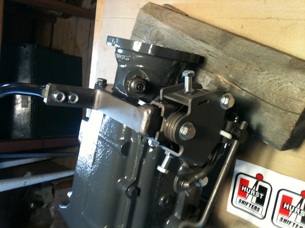 Pictures conversion Patricks/Saginaw 4 speed Overhauled and