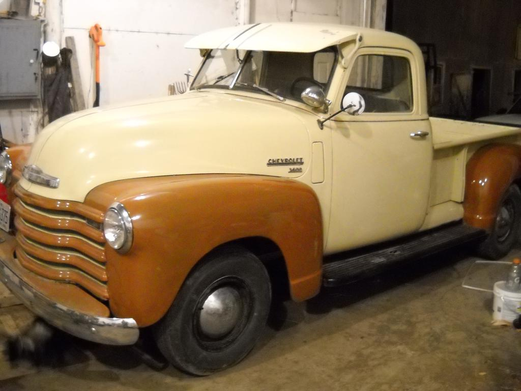 My 1949 3600 Chevy Classic Parts Talk Truck 4x4 Conversion Day1shop