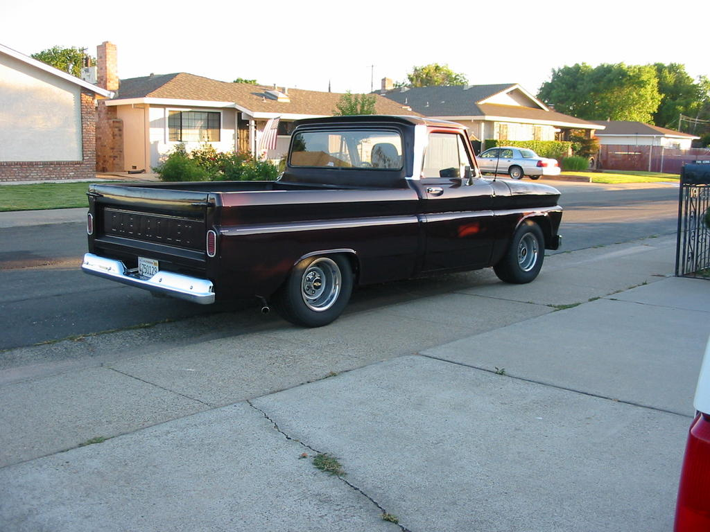 275 60 R15 Tires On 66 C10 Front And Rear Classic Parts Talk 1966 Chevy Stepside Truck Img 0695