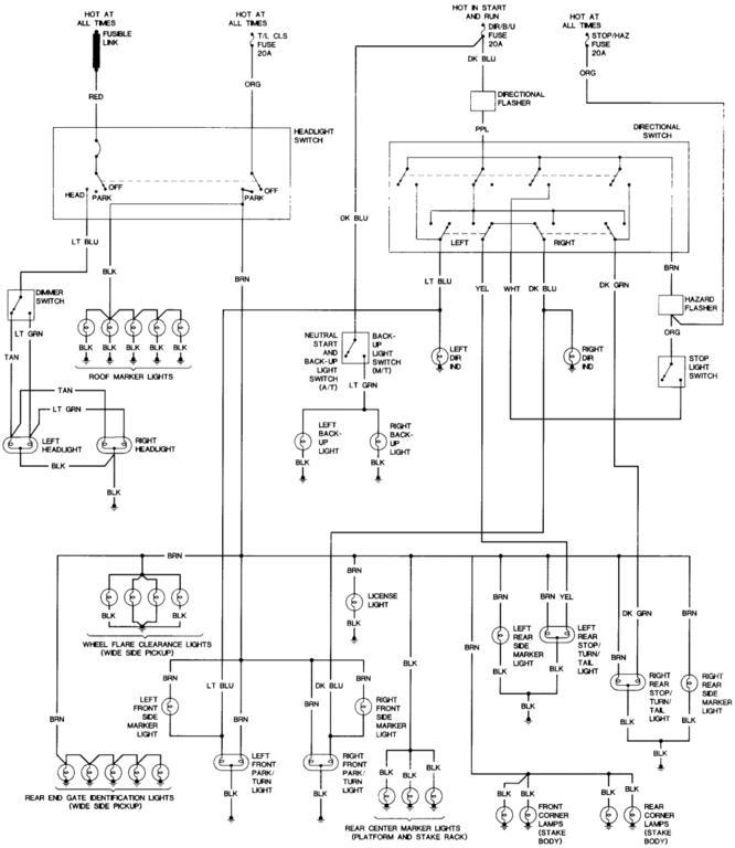 1986 K10 Wiring Diagrams | Classic Parts Talk Classic Parts Talk