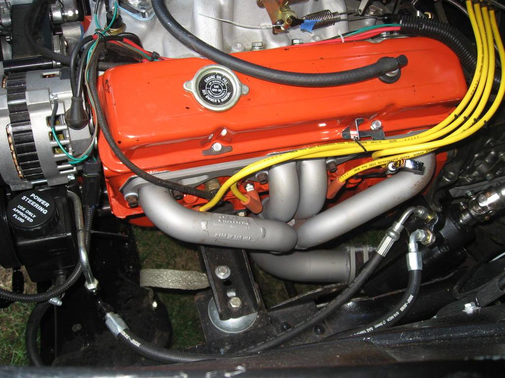 53l Swap Into 57 Classic Parts Talk 1955 Ford F100 V8 Conversion Mount