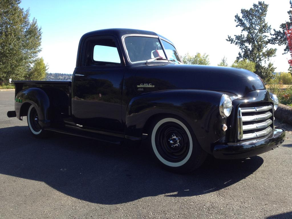 53 Gmc Chevy Trk Grill Swap Questions Classic Parts Talk 1954 Pickup Truck Photo 1