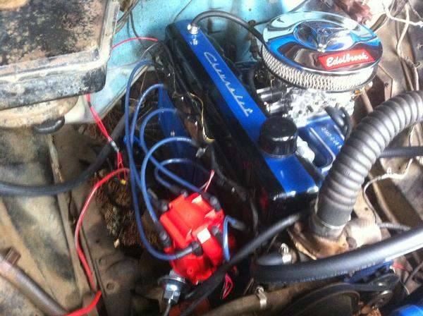292 inline 6. 48 years old internally. Clifford intake and ...