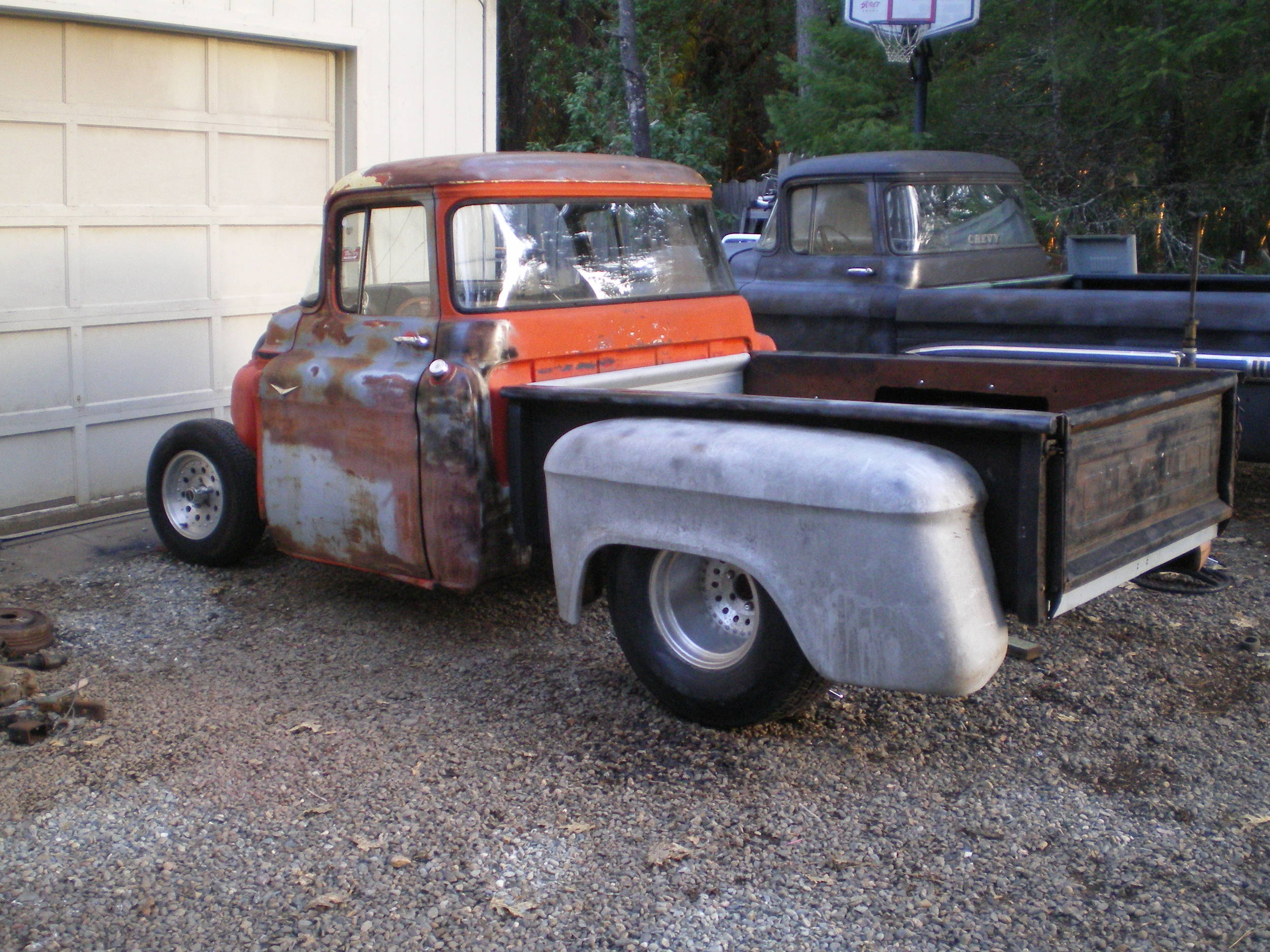 1955 Chevy Truck Rat Rod http://talk.classicparts.com/photos/showphoto.php?photo=1632&size=big&date=1202259104